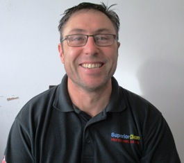 A portrait photo of Peter Hynes, owner/operator of Superior Clean.